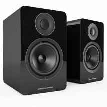 Acoustic Energy AE1 Active Piano Black Speakers - Pair