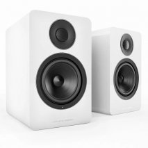 Acoustic Energy AE1 Active Piano White Speakers - Pair