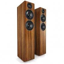 Acoustic Energy AE109 Walnut Vinyl Veneer Floorstanding Speakers Pair