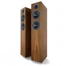 Acoustic Energy AE309 Floorstanding Real Walnut Wood Veneer - Pair speakers