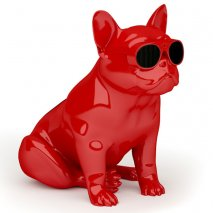 Jarre AeroBull XS1 Wireless Bluetooth Speaker in Glossy Red front