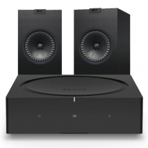 Sonos Wireless Amplifier with Kef Q150 Bookshelf Speaker