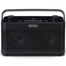 Roberts Blutune 5 Dab/Dab+/Fm/Bluetooth RDS Stereo Radio with 2 Alarms - Black
