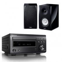 Denon RC-DM41DAB Micro Hi-Fi CD Receiver with Yamaha NSBP150 Bookshelf Speakers