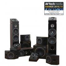Elipson Prestige Facet 7.2.4 Dolby Atmos Speaker System in Black