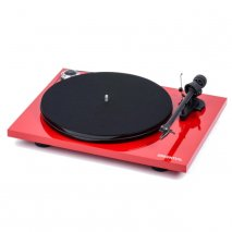 Pro-Ject Essential III BT Turntable with Built in Phono Stage and Bluetooth -Red front