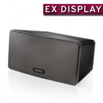 Sonos PLAY:3 Wireless Hifi System in Black - Ex Display