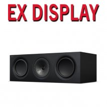 KEF Q650c Centre Channel Speaker in Satin Black - Ex Display