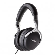 Denon AH-GC30 Premium Wireless Noise Cancelling Headphones in Black full
