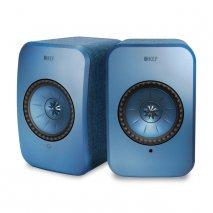 KEF LSX Wireless Music Speakers in Blue