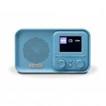 Roberts PLAY M5 FM/DAB/DAB+ Radio - Blue Monday front