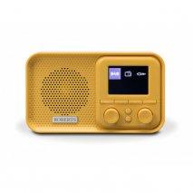 Roberts PLAY M5 FM/DAB/DAB+ Radio - Yellow Submarine front