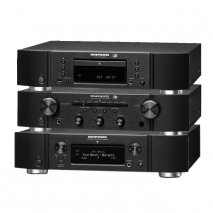 Marantz PM6006 UK Amplifier, CD6006 UK CD Player and NA6006 Network Audio Player - Black