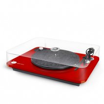 Elipson Omega 100 Turntable in Red