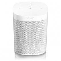 Sonos One Wireless Speakers with Amazon Alexa White