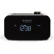 Roberts Ortus 2 Dab/Dab+/Fm Alarm Clock Radio with Smartphone Charging