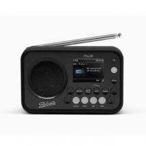 Roberts Radio Play 20 DAB/DAB+/FM Bluetooth Portable Digital Radio - Black front
