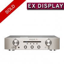Marantz PM6006 Integrated Amplifier UK Edition in Silver Ex Display