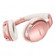 Bose QuietComfort 35 II Noise Cancelling Wireless Headphones with Google Assistant in Rose Gold