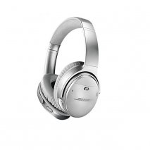 Bose QuietComfort 35 II Noise Cancelling Wireless Headphones Silver Side