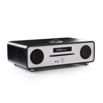 Ruark R4 MK3 Interated Music System - Soft Black angle