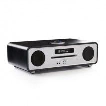 Ruark R4 MK3 Interated Music System - Soft Black angle