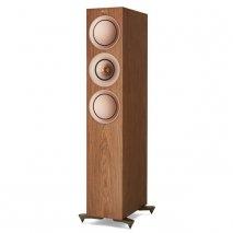 Kef R7 Floorstanding Speakers in Walnut front