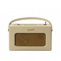 Roberts RD70PC DAB+/DAB/FM Revival Radio with Bluetooth - Pastel Cream front