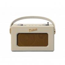 Roberts REVIVAL-UNO DAB/DAB+/FM Digital Radio with Alarm -Pastel Cream front