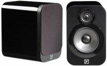 Q Acoustics Q3020 Series Bookshelf Speakers in Black Lacquer Pair