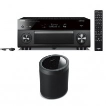 Yamaha RXA2080 9.2 Ch AV Receiver with MusicCast 20 Wireless Speaker - Black