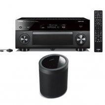 Yamaha RXA3080 9.2 Ch AV Receiver with MusicCast 20 Wireless Speaker - Black