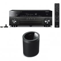 Yamaha RXA880 7.2 Ch AV Receiver with MusicCast 20 Wireless Speaker - Black