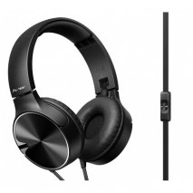 Pioneer SE-MJ722 On-Ear Headphones - Black