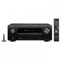 Denon AVRX2700H 7.2 Ch 8K AV Receiver with 3D Audio, Heos and Voice Control