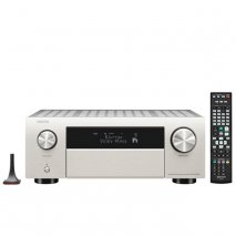 Denon AVC-X4700H 9.2ch 8K AV Amplifier with Heos Built in and Voice Control in Silver