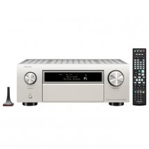 Denon AVC-X6700H 11.2 ch 8K AV Amplifier with Heos Built-in and Voice Control in Silver