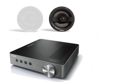 bose in ceiling speakers. enlarge yamaha wxa-50 wireless streaming amplifier with bose virtually invisible 791 ceiling speakers ii in