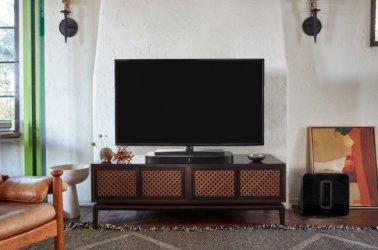 Sonos PLAYBASE Wireless Soundbase Speaker for TVs in Black