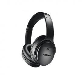 Bose QuietComfort 35 II Noise Cancelling Wireless Headphones Black Side