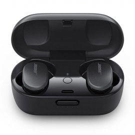Bose QuietComfort Noise Cancelling Bluetooth Earbuds in Triple Black case