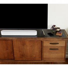 Sonos Beam Compact Soundbar with Amazon Alexa in White